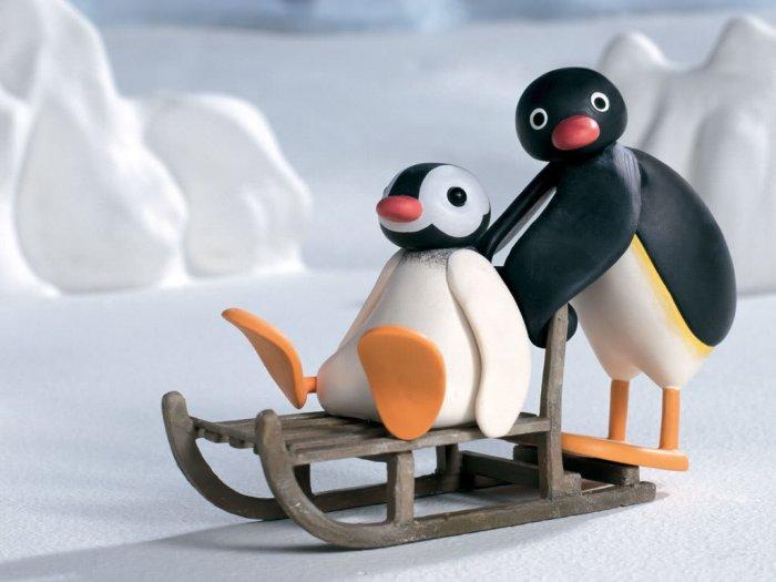 小企鹅pingu,小海豹robby也逐渐成为和米老鼠一样的经典动画角色.