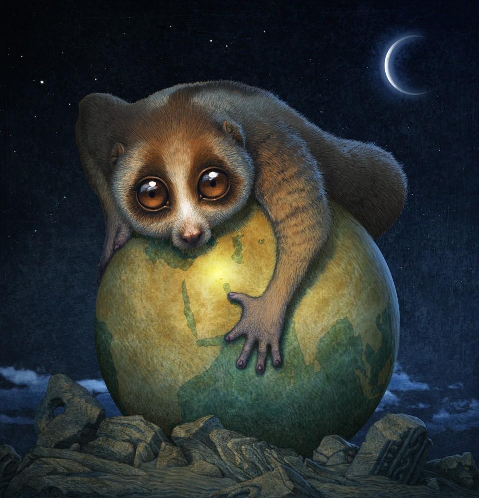 天下共生野生动物cg艺术精英邀请赛作品欣赏